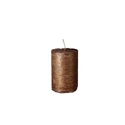 Svíčka válec P.7cm, V.10cm metalický_0