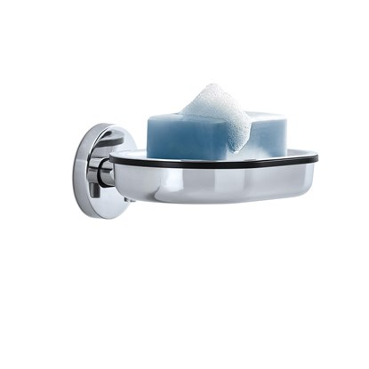 Nástěnná miska na mýdlo AREO lesk_1