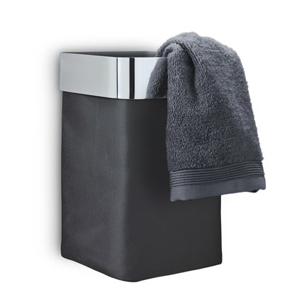 Košík do koupelny NEXIO šedý lesk_1