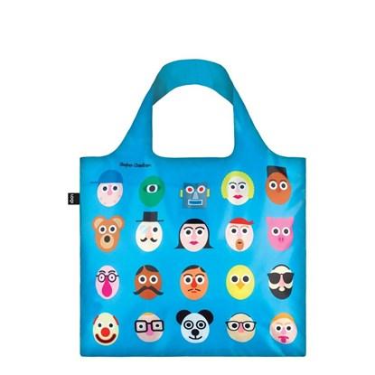 Skládací nákupní taška LOQI - Stephen Ch_2