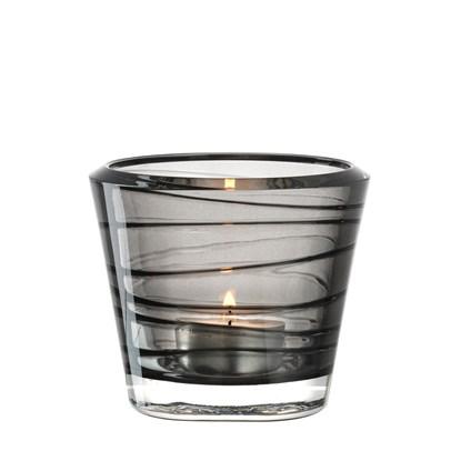Svícen na čaj. svíčku STRUTTURA šedý_1