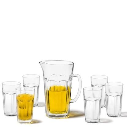Džbán + 6 skleniček ROCK SET/7ks_3