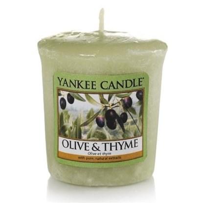 Vonná svíčka votivní Olive&Thyme_0