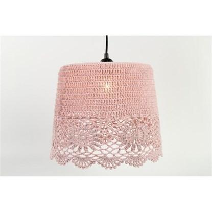 Stínítko na lampu CROCHET, háčkované, M_0