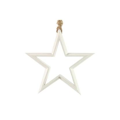 Vánoční hvězda Harlak S bílá_0