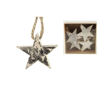 Hvězda na zavěšení Elfrida stříbrné  BAL_0