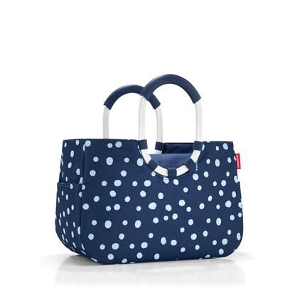 Nákupní taška LOOPSHOPPER L spots navy_0