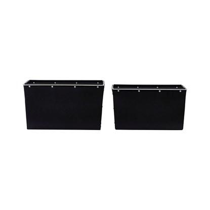 Úložný box černý 22cm SET/2ks_0