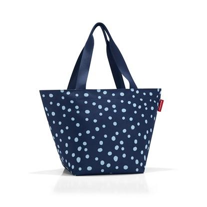 Nákupní taška SHOPPER M spots navy_1