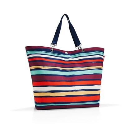 Nákupní taška SHOPPER XL artist stripes_0