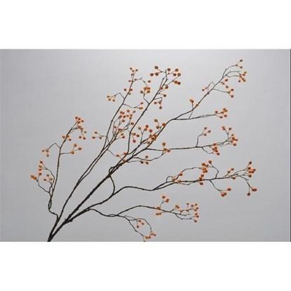 Větvička s oranžovými bobulemi 133 cm_0