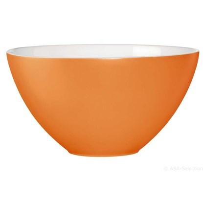 Keramická miska 30 cm oranžová_0