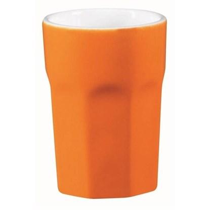 Hrnek na cappuccino - oranžový_0