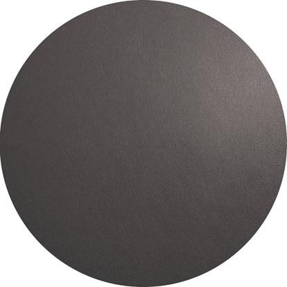 Prostírání kulaté 38 cm tmavě šedá_0