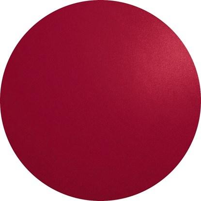 Prostírání kulaté 38 cm červená_0