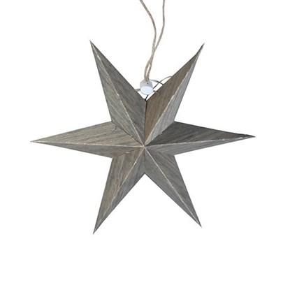 Dekorační hvězda na zavěšení 18,5cm_0