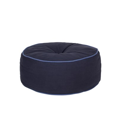 Sedací vak CANVAS P.50 cm modrý_0