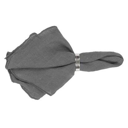 Ubrousek GRACIE 45x45 cm tmavě šedý_0