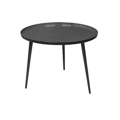 Stolek JELVA 57 cm tmavě šedý_0