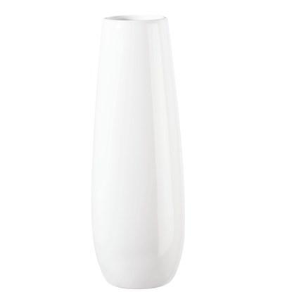 Váza EASE 32 cm bílá_0