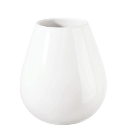 Váza EASE P.9cm, V.18cm bílá_0