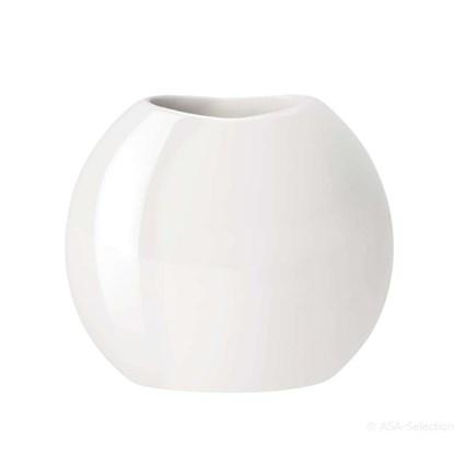 Váza MOON 25 cm bílá_0