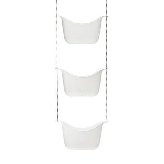 Závěsná polička do sprchy BASK 91x28 cm_0