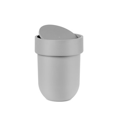 Odpadkový koš s víkem TOUCH šedý_0