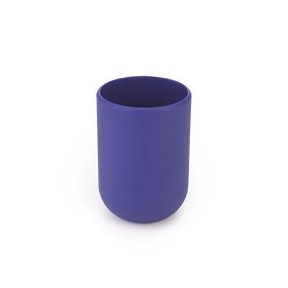 Pohárek na vodu TOUCH 7x7x10 cm modrý_0