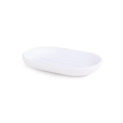 Miska na mýdlo TOUCH 13x9x2 cm bílá_0