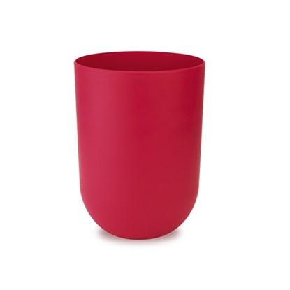 Odpadkový koš TOUCH 19x19x26 cm červený_0