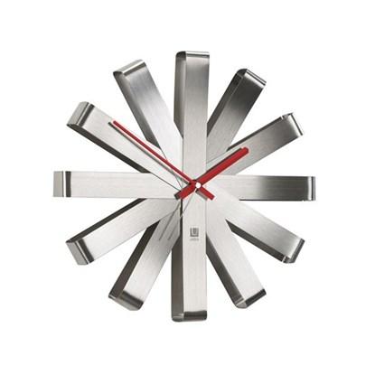 Nástěnné hodiny RIBBON 30 cm ocelové_0