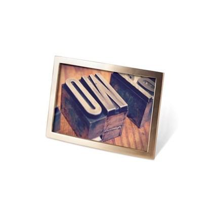 Fotorámeček SENZA 10x15 cm mosaz_0