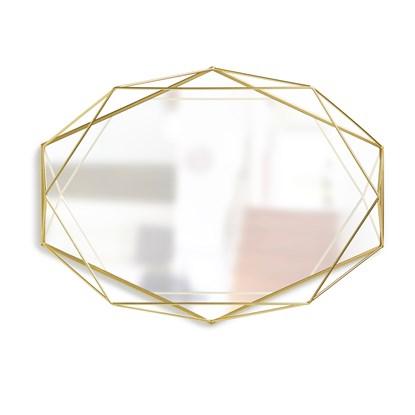 Zrcadlo PRISMA mosazné_0