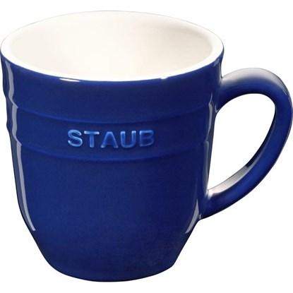 Hrnek Staub 9cm modrý_0