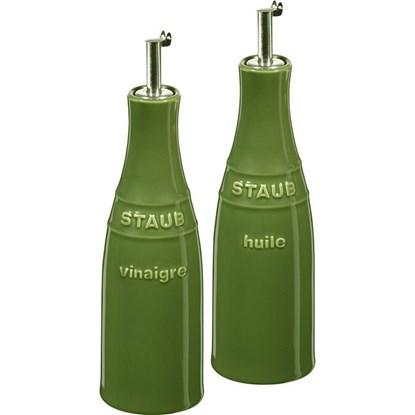 Set Staub na olej a ocet zelený_0