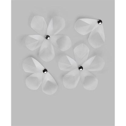 Dekorace na zeď AERIAL FLOWER SET/12ks_1