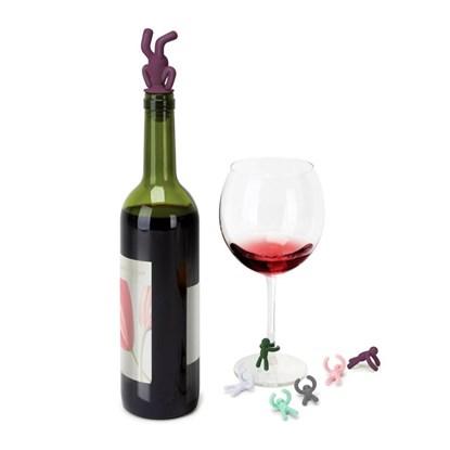 Uzávěr na víno + rozlišovače DRINK.BUDDY_1