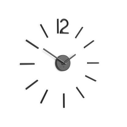 Nástěnné hodiny BLINK černé_4