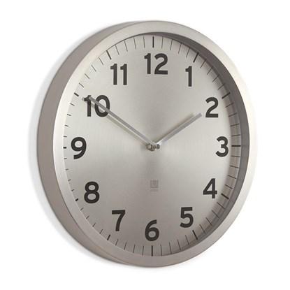 Nástěnné hodiny ANYTIME nikl_2