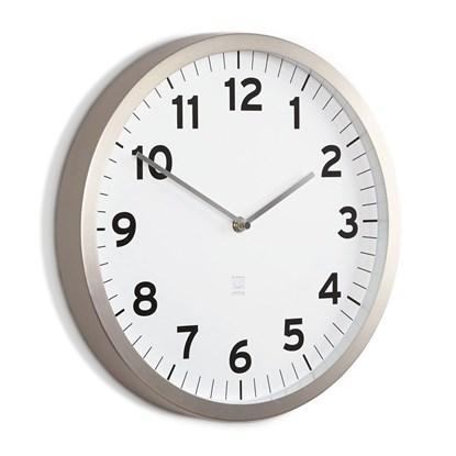 Nástěnné hodiny ANYTIME bílé_2