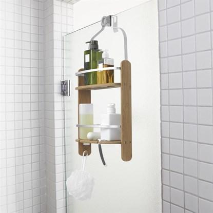 Koupelnová polička BARREL přírodní_1