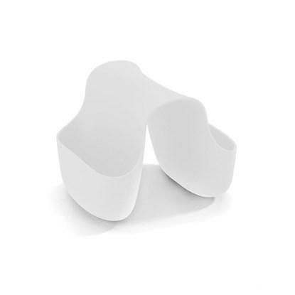 Držák na drátěnku/houbičku SADDLE bílý_1