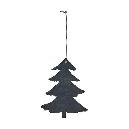 Stromek na zavěšení ORNAMENT 12 cm černý_0
