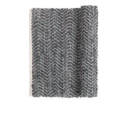 Koberec ZIGZAG 70x140 cm tm. šedý_0
