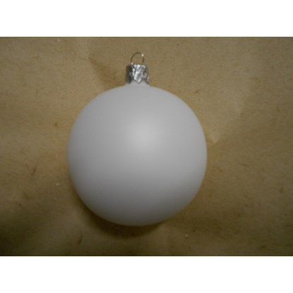 Vánoční koule 7 cm - mat SET/6ks_0