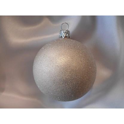 Vánoční koule 8 cm - celoposyp SET/6ks_0