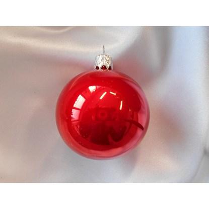 Vánoční koule 10 cm - porcelán SET/4ks_0