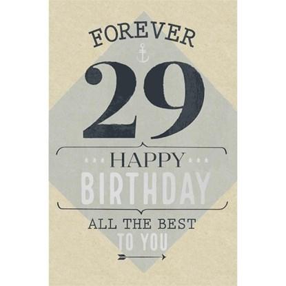 Přání ražené Birthday-29 Forevdr_0