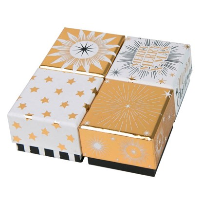 Dárková krabička 6x6x4cm 4 dr. cena/ks_0
